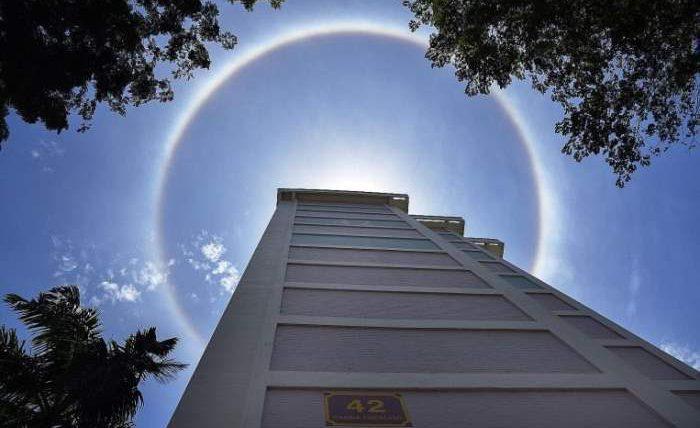 гало,ореол,Сингапур,