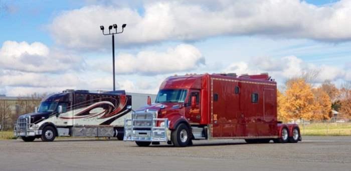 грузовики большие спальники