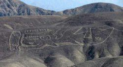 В пустыне Перу найден гигантский 2000-летний геоглиф касатки