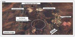 Под землей обнаружен метеоритный кратер возрастом 100 миллионов лет