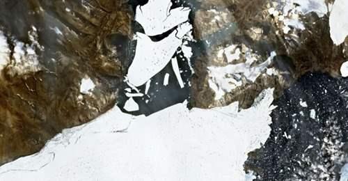 ледник гренландия