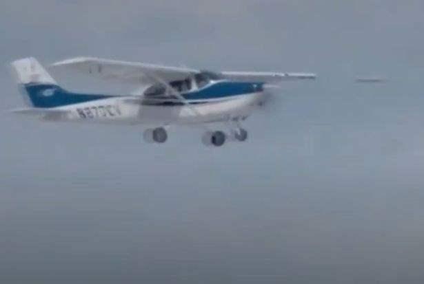 нло самолет