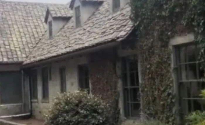 окно,призрак,особняк,