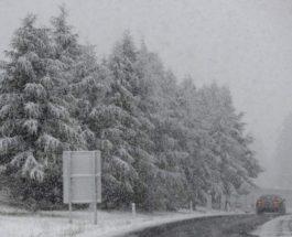 снег альпы