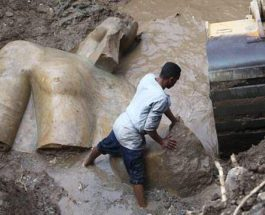 3000-летняя статуя египетского фараона Рамзеса II