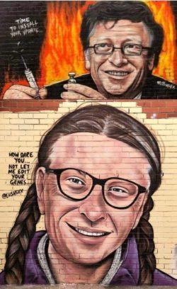 Фото дня: Уличное искусство в Мельбурне, Австралия