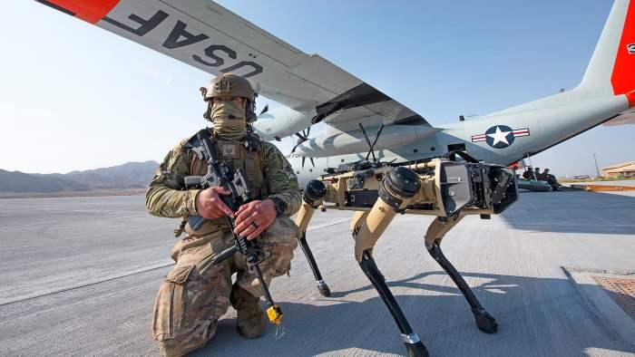 Ghost Robotics,ВВС США,