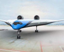 V-wing,самолет,Flying-V,