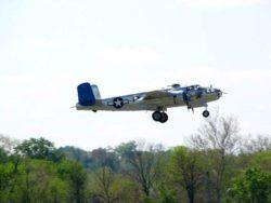 В Калифорнии разбился бомбардировщик Второй Мировой TB-25 N Mitchell 1944 года (ФОТО)