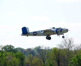 TB-25 N Mitchell,бомбардировщик,Калифорния,