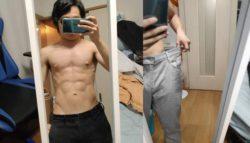 Подросток утверждает, что видеоигра о фитнесе помогла ему достичь впечатляющего телосложения