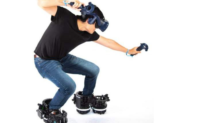 Ekto VR,виртуальная реальность,обувь,