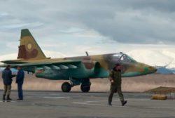В Азербайджане сбили армянский боевой самолет
