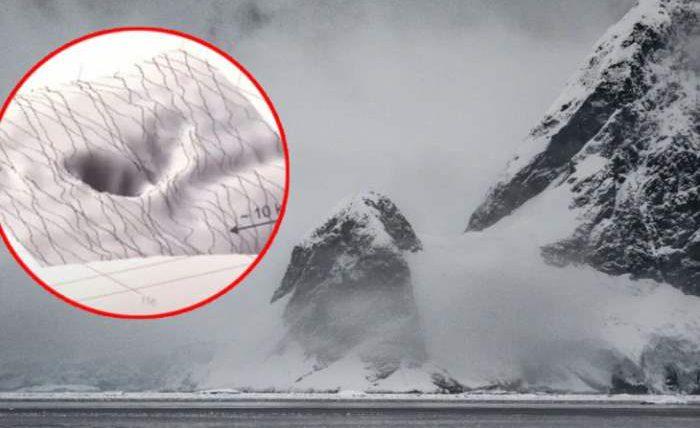 Антарктида,Земля,дыра,