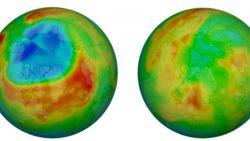 Озоновая дыра над Антарктидой тревожно разрастается