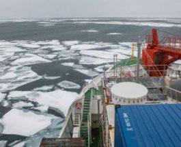 Арктика, лед, Море Лаптевых, глобальное потепление,