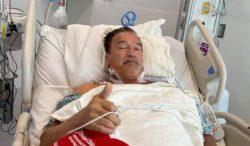 Арнольд Шварценеггер снова перенес операцию на сердце (ФОТО)