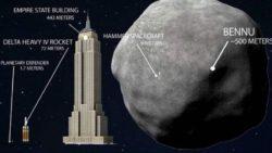 Американский зонд должен приземлиться на астероид и доставит оттуда образец