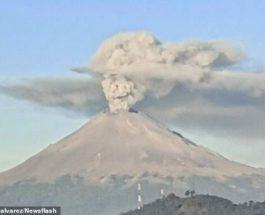 Вулкан,извержение,пепел,череп,Череп Катрины,элегантный Череп,
