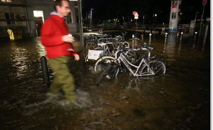 Германия,наводнение,катаклизмы,