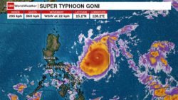 Власти Филиппин начали эвакуацию из-за сильнейшего тайфуна года