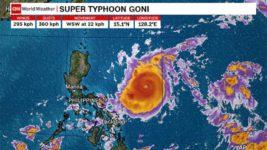 Гони, Тайфун, Филиппины, эвакуация,