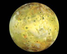 ИО, спутник Юпитера,