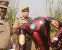 Индия, воздушный шар, НЛО, Marvel, Железный человек,