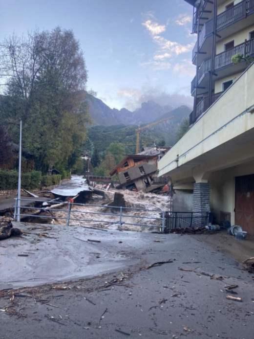 Италия,наводнения,