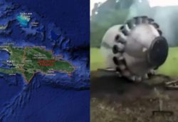 В Доминиканской республике упала часть ракеты, спутника или НЛО
