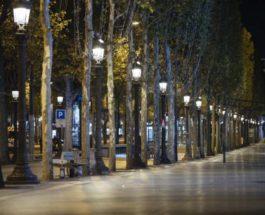 Париж, Франция, комендантский час, COVID-19,