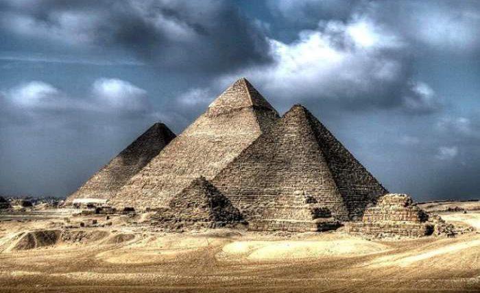 Пирамида, Гиза, Египет,