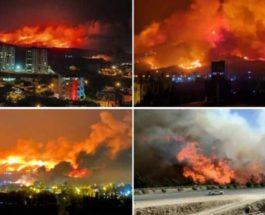 Пожары,Турция,Сирия,Израиль,