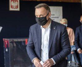 Польша, президент, Анджей Дуда, коронавирус,