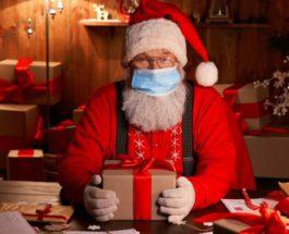 Санта Клаус, США, вакцина, коронавирус,