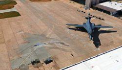 Уфолог Скотт Уоринг нашел бомбардировщик ВВС США B1 с технологией невидимости (ВИДЕО)