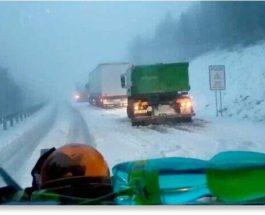 Снег,ранний снег,Европа,Чехия,Китай,