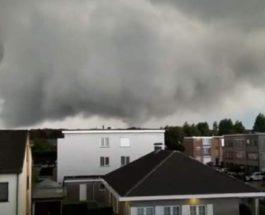 Торнадо,Антверпен,Бельгия,
