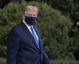 Трамп,в маске,коронавирус,