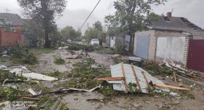 Украина,смерч,торнадо,Кировоградская область,