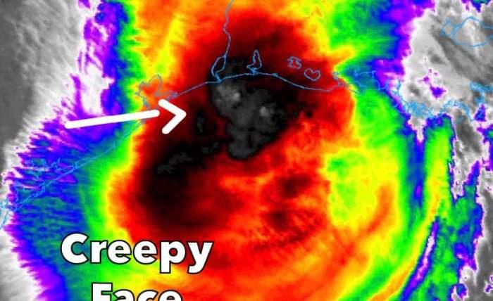 Ураган,Дельта,лицо,