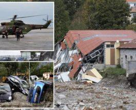 Шторм,Алекс,Франция,Италия,наводнения,