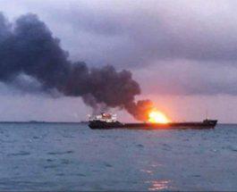 взрыв, Азовское море, танкер,