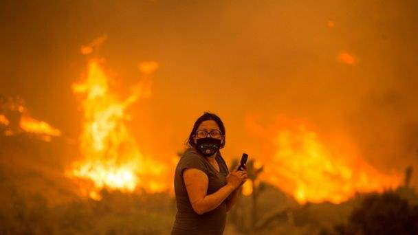 дым, лесные пожары, коронавирус,