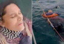 Женщина, пропавшая без вести 2 года назад, найдена живой в океане (ВИДЕО)