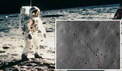 На Луне нашли странные следы, не принадлежащие космонавтам