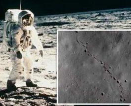 луна следы
