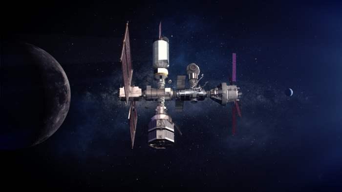 луна станция