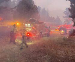 В Колорадо началась эвакуация из-за сильного пожара