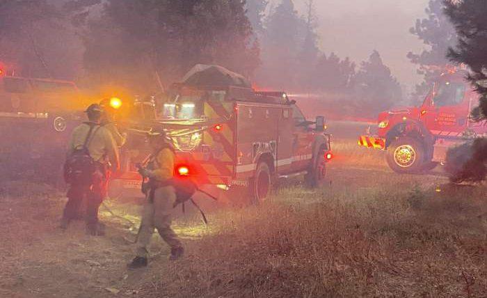 пожар, лесной пожар, Колорадо,